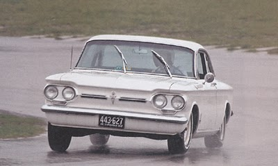 Corvair curve