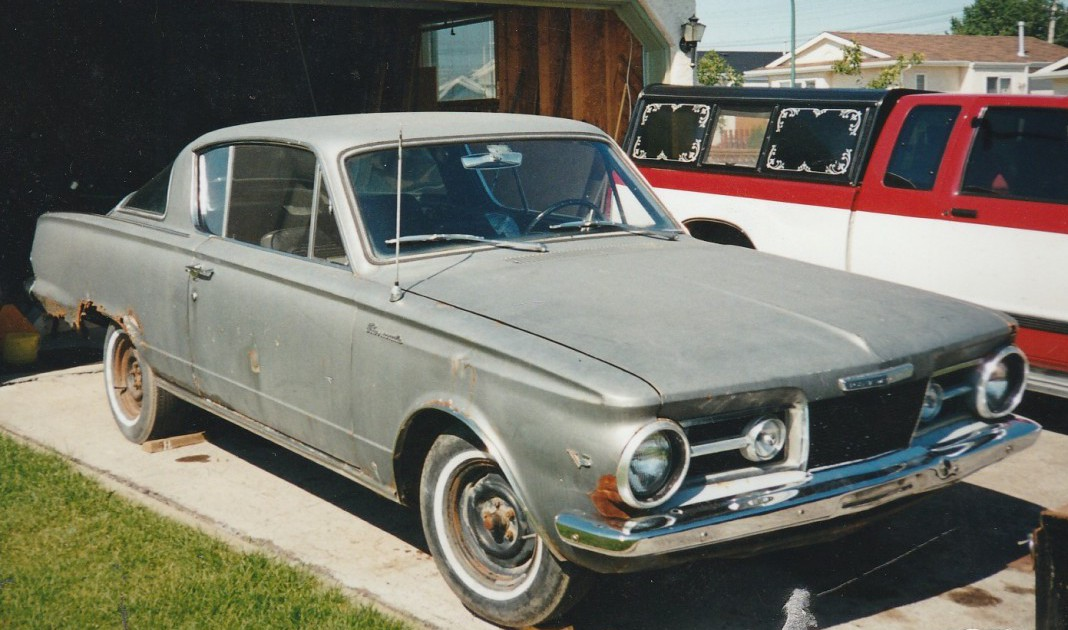 COAL: 1965 Plymouth Valiant Barracuda – You Only Get One First Car ...