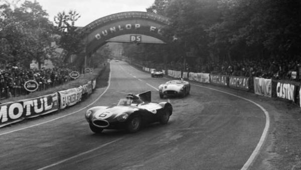 Jaguar D type Le Mans