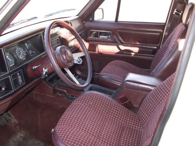 Coal 1987 Jeep Cherokee Laredo What If
