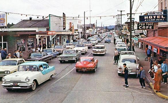 Long Beach WA 1964