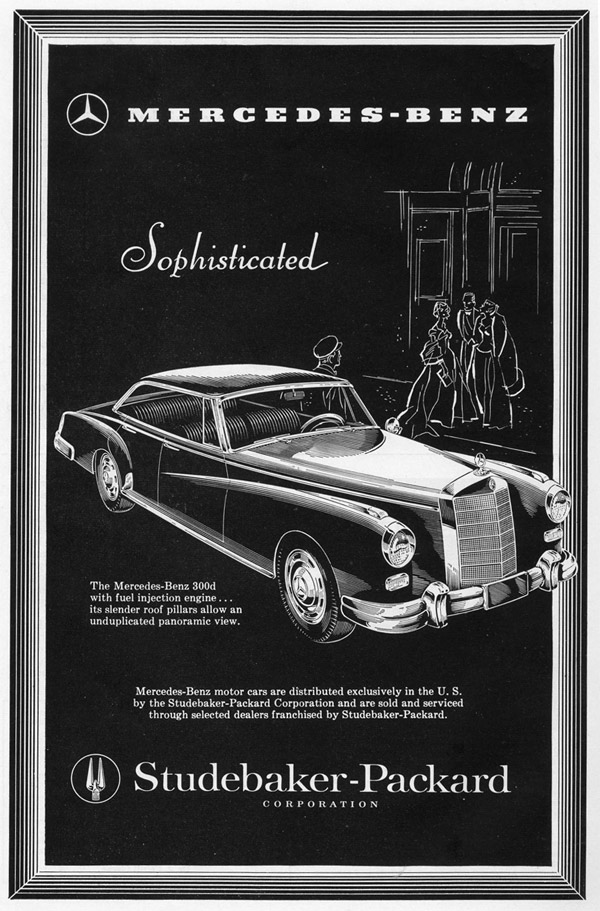 Mercedes 300 C stude-packard
