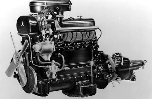 Mercedes 300 M186 engine