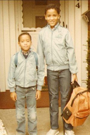 Peter & Joe Dennis Matching Members Only Jackets CC