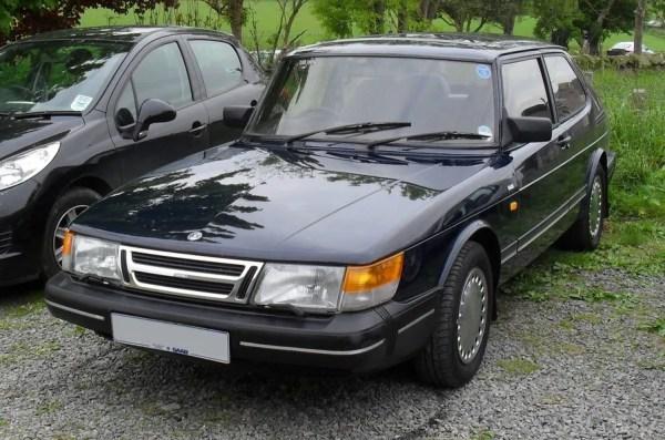 Saab 1988 900 gray