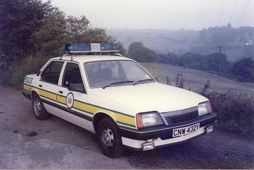 Vauxhall cavalier police