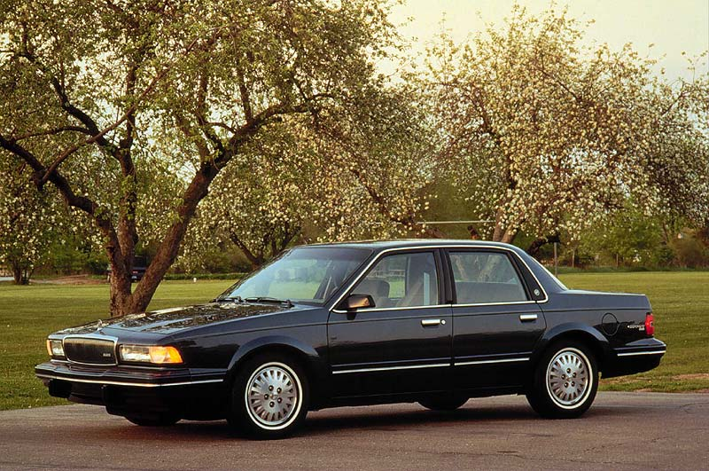 Curbside Classic 1989 96 Buick Century Amp Oldsmobile Cutlass Ciera Sheer Frustration