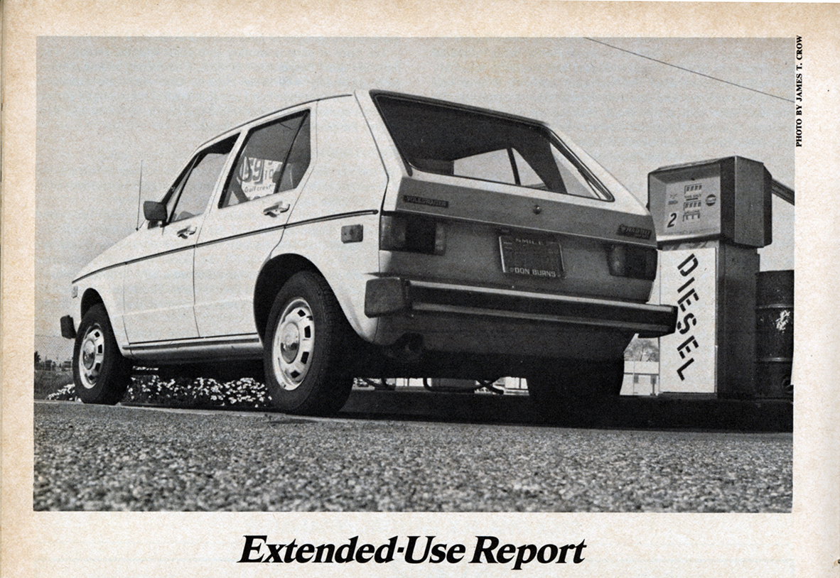 Vintage Review: VW Rabbit Diesel Extended-Use Report *Post