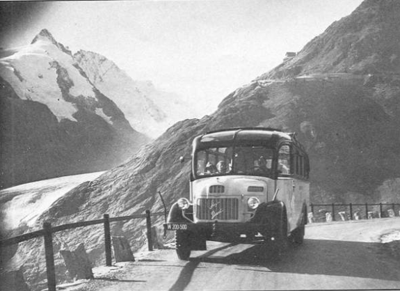 steyr post bus alpine