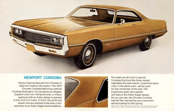 1970 chrysler newport cordoba 4