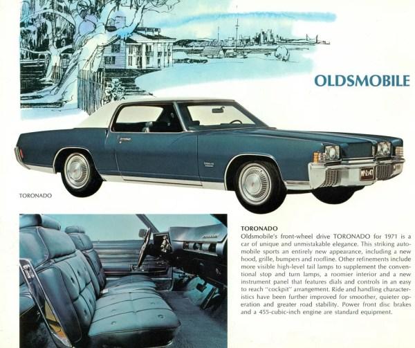 1971 Toronado brochure