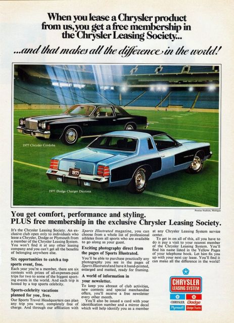 1977 chrysler cordoba dodge charger