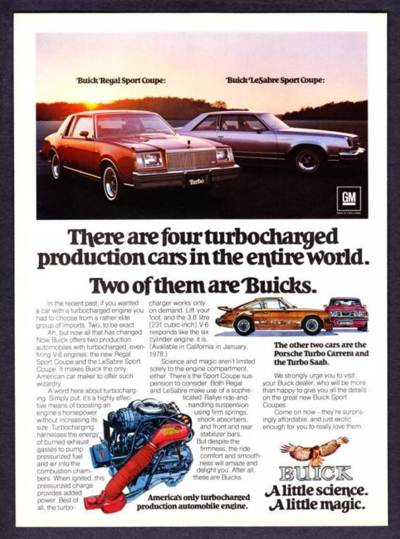 1978 buick lesabre regal turbo