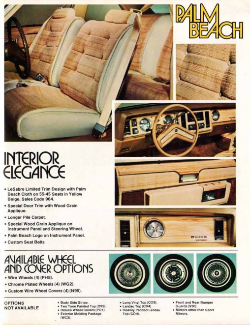 1979 buick lesabre palm beach interior