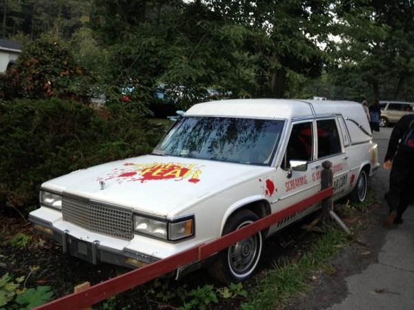 1987 cadillac hearse