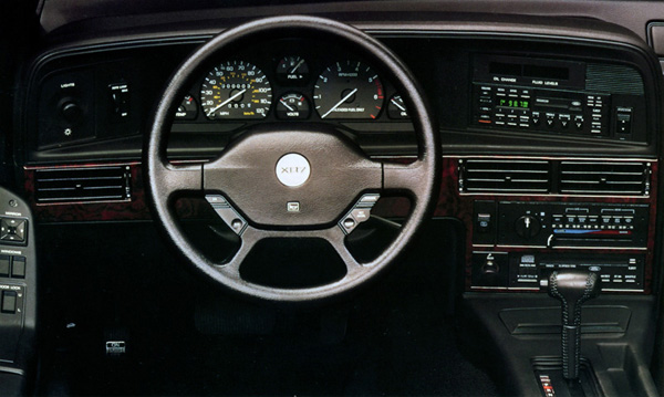 1990 mercury cougar xr7 interior