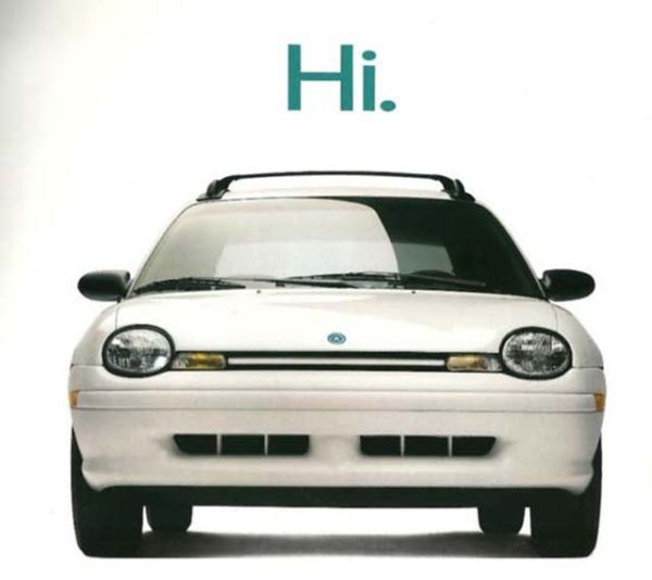 1995 Plymouth Neon print advertisement