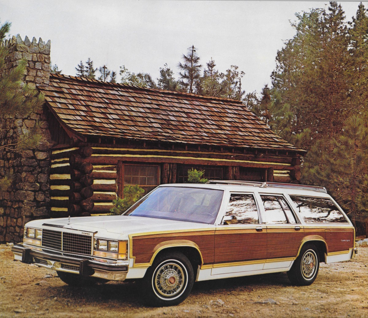 Vintage Review: 1979 Ford Country Squire – The Wagonmaster Goes To ...