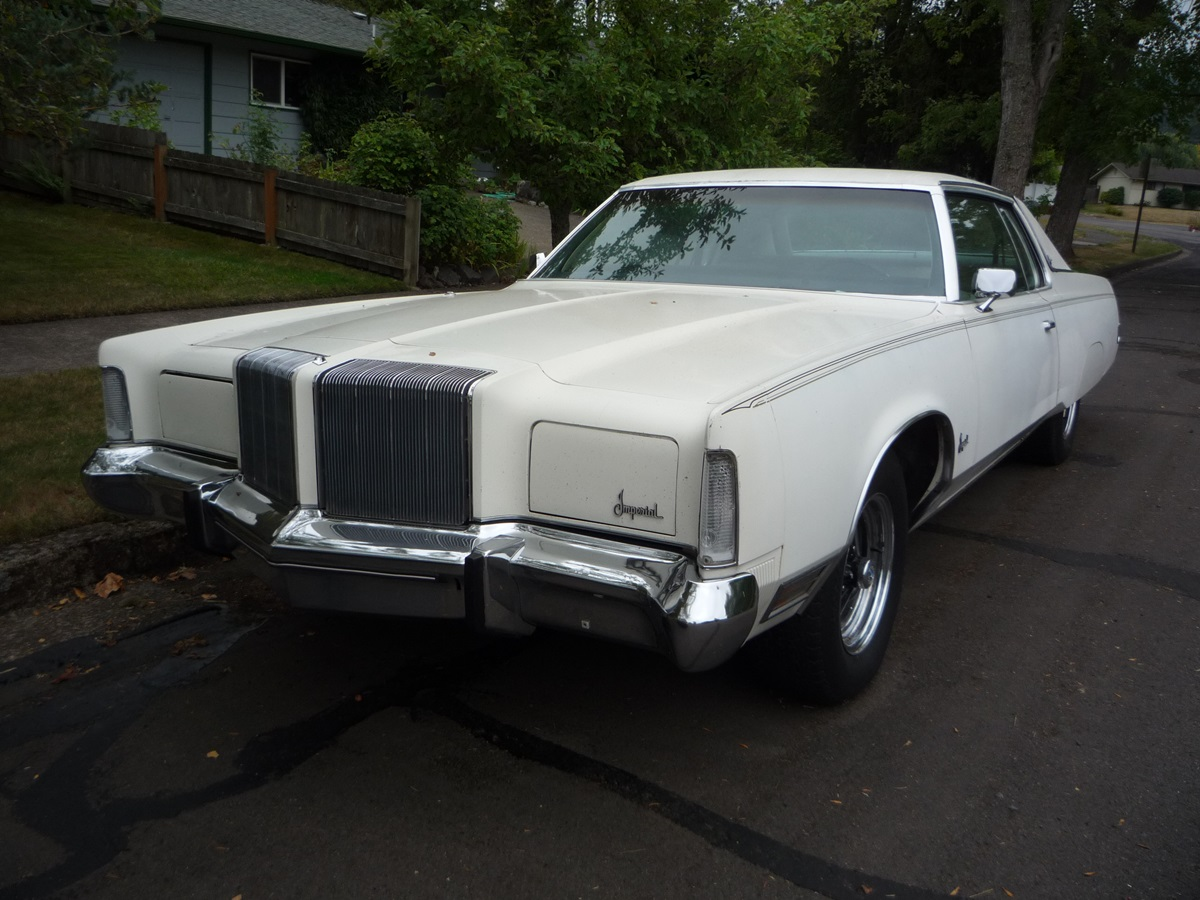 Curbside Classic 1975 Imperial Lebaron Coupe The Last Real Imperial Curbside Classic