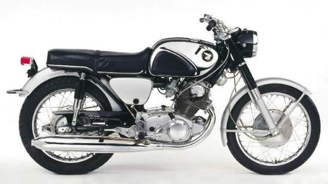 Honda 305 super hawk