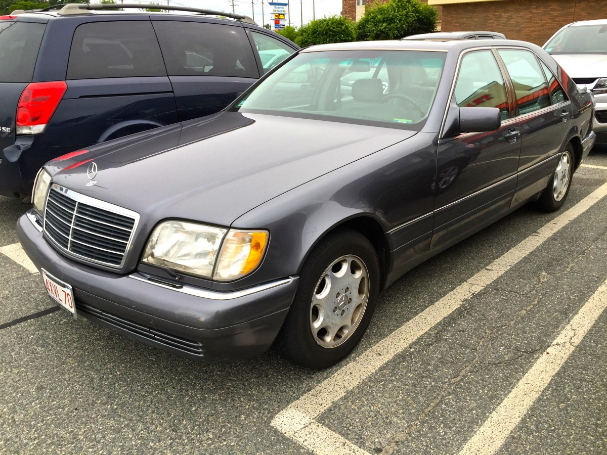 curbside classic: 1995 mercedes-benz s320 (w140) – over-engineered to the  point of excess? | curbside classic  curbside classic