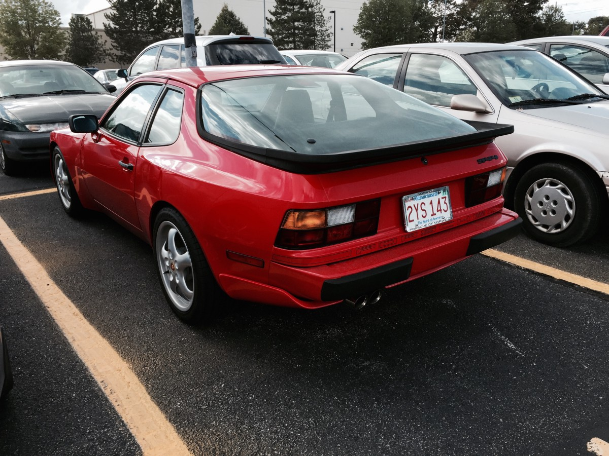 Curbside classic 19855 porsche 944 the unconventional daily driver first introduced as a 1982 model the porsche 944 was more or less an upgraded version of the somewhat derided entry level 924 vanachro Choice Image
