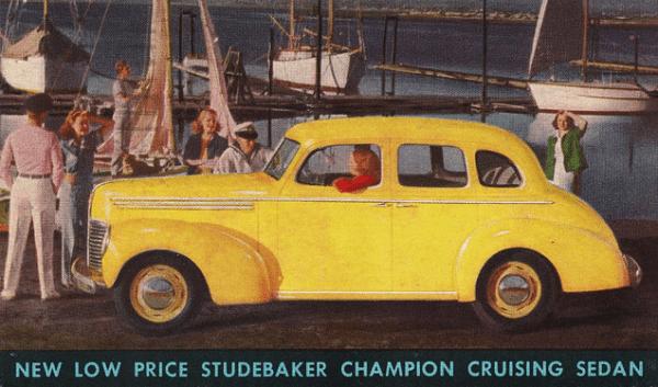 Studebaker 1939 Champion