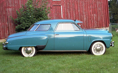 Studebaker 1947 Champ coupe