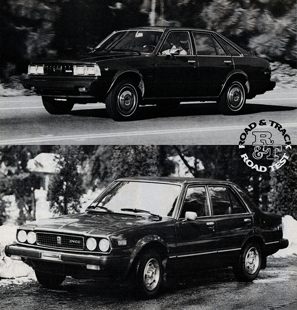 Vintage Review Toyota Corona And Honda Accord Two Road Tests 1979