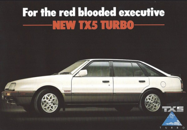 ford telstar tx5 turbo ad