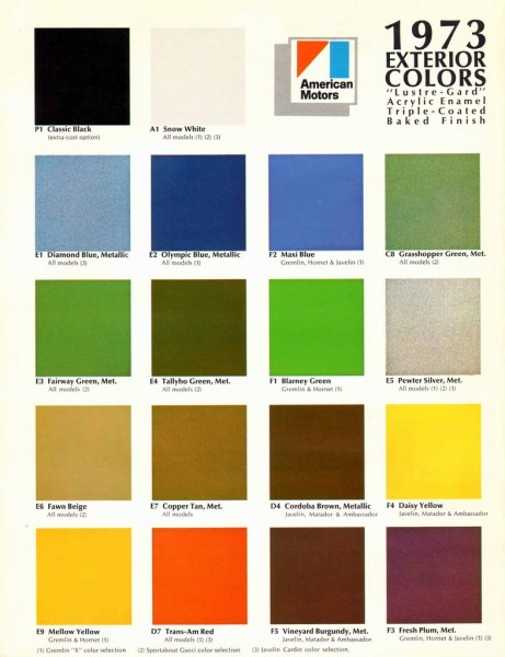 n_1973 AMC Exterior Colors Chart-01