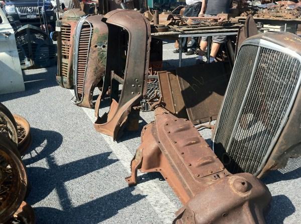 rusty parts