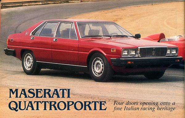 1980 maserati quattroporte