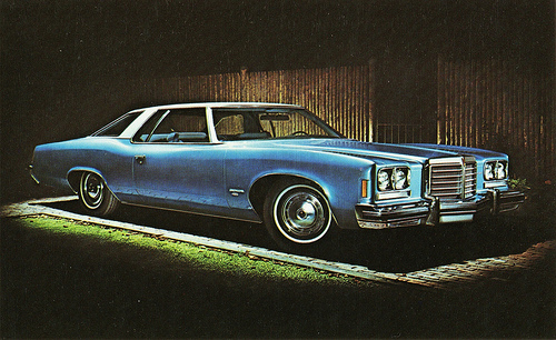 1974 pontiac coupe