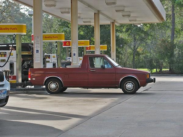 1980-82 VW Rabbit Pickup LX Woodlands 20121013