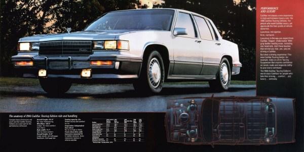 1986 cadillac deville touring sedan