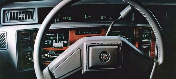 1986 cadillac touring interior