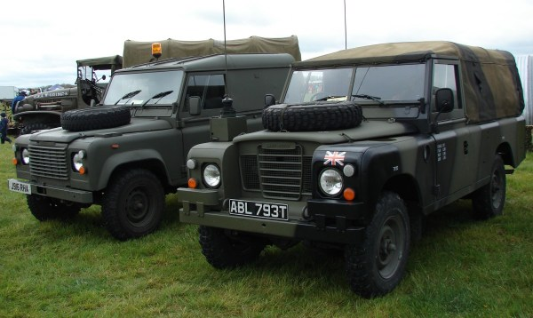 1991 Land-rover defender and 1978 S3