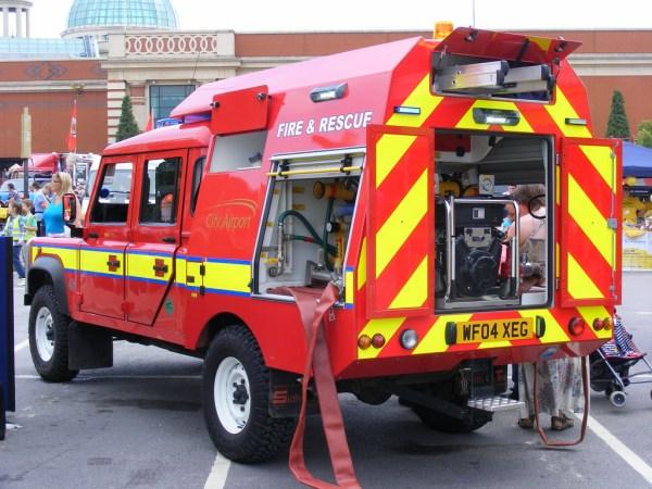 2004 firefighting Defender