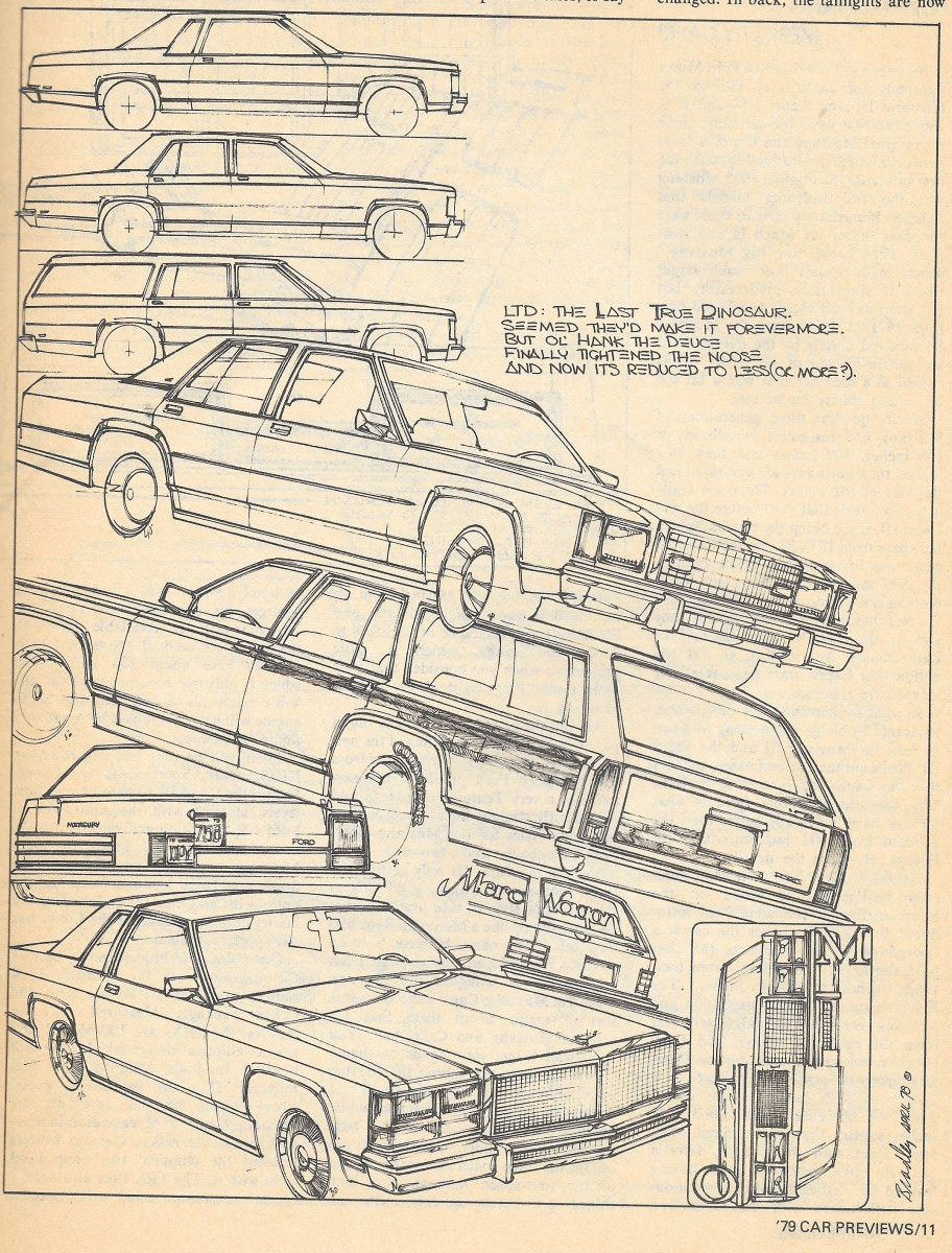 Vintage Review: 1979 Mercury Marquis – Less Fat At The Sign Of The Cat