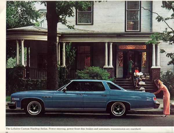 Buick 1976 Le Sabre 4 door hdtp br