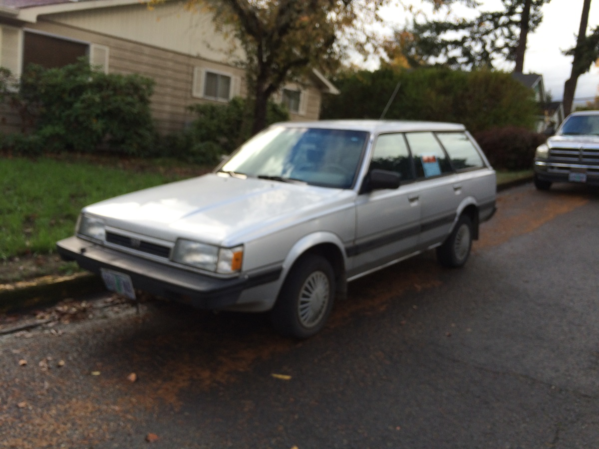 CC For Sale: 1992 Subaru Loyale Wagon – Already Gone