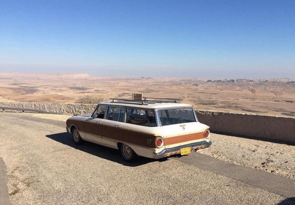 Falcon 1962 wagon Israle r