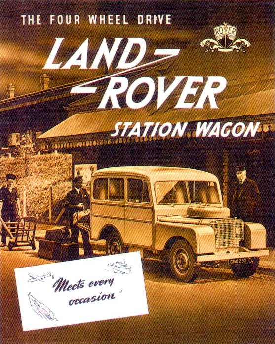 Land-Rover Tickford Station wagon
