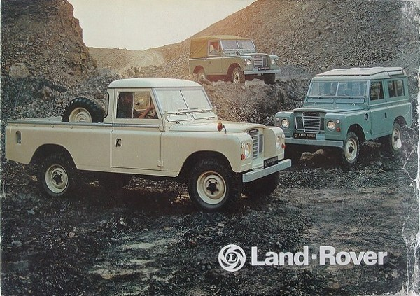 Land-rover series 3 brochure