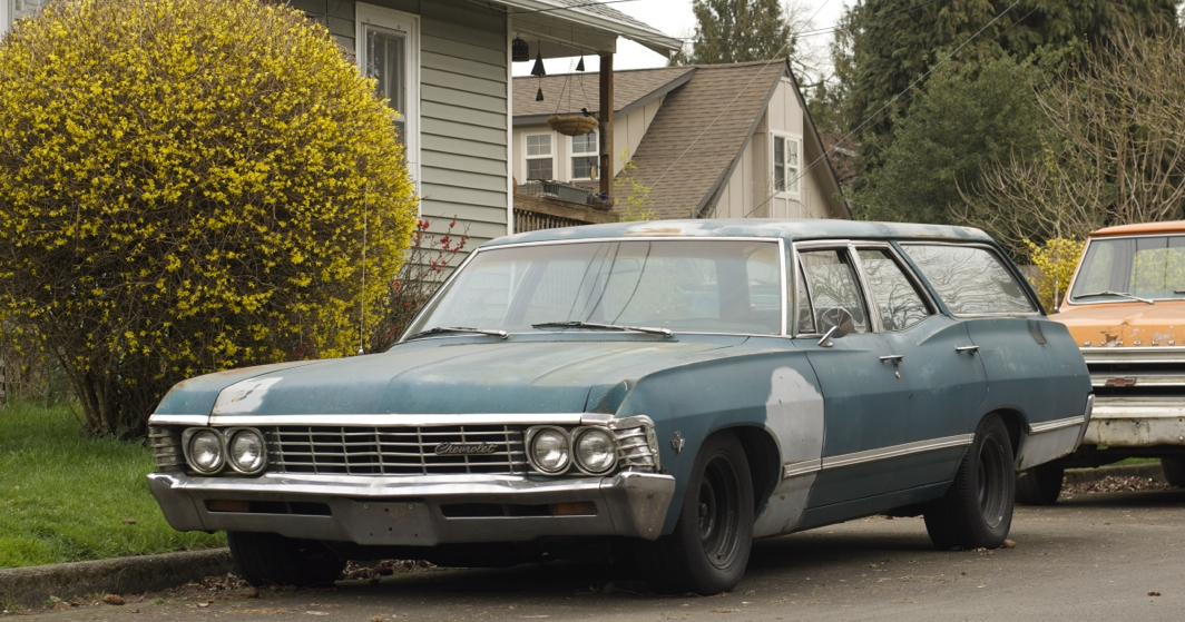 COAL: 1967 Chevrolet Bel Air Wagon – A Travelling Party Room For The ...