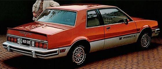 Pontiac 1982 Phoenix sj