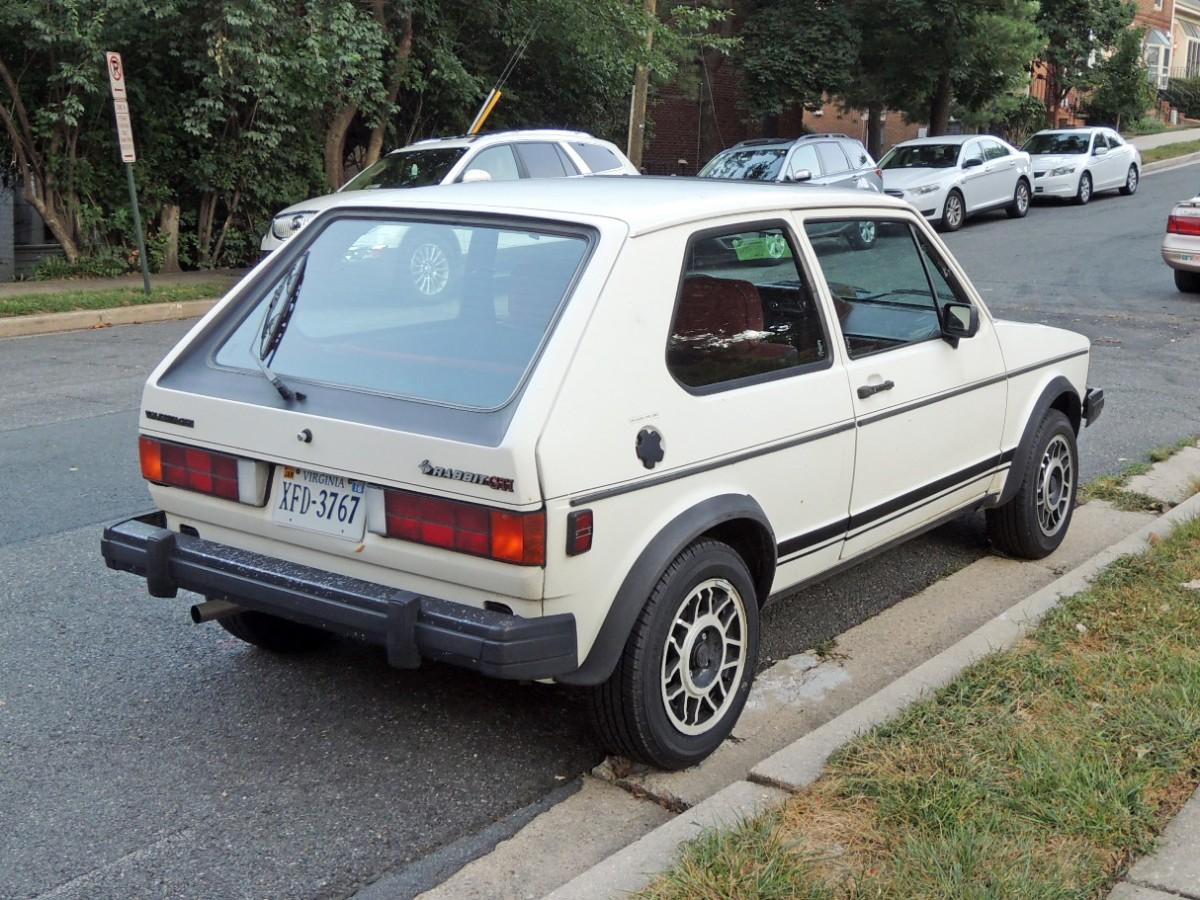 Curbside Classic 1983 Volkswagen Rabbit Gti When Fun Hopped 1990 Golf Rr 1