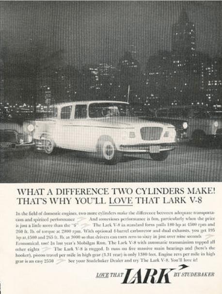 Studebaker 1960 v8 ad