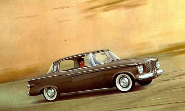Studebaker 1961 Lark coupe